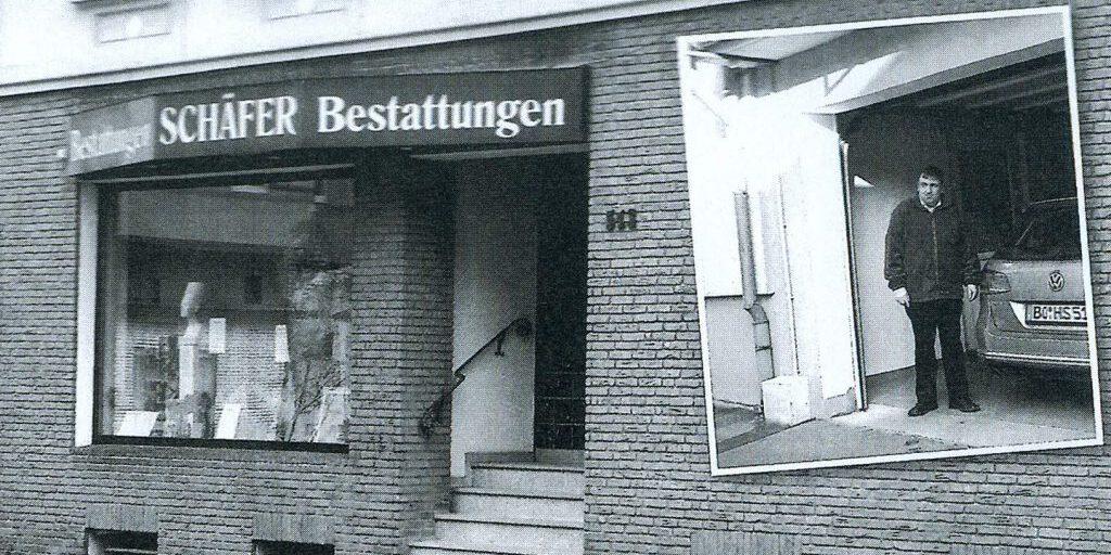 Beerdigung in Bochum.